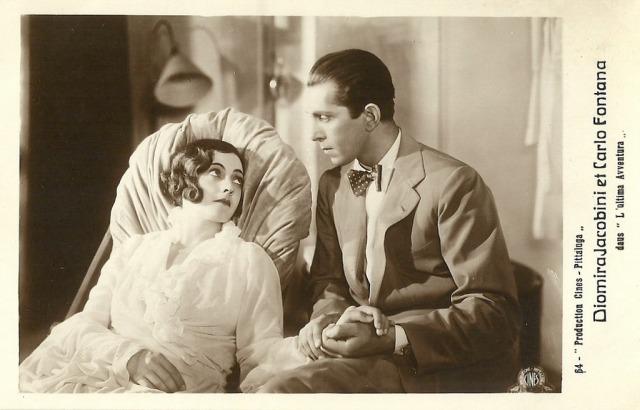 Diomira Jacobini Carlo Fontana L'ultima avventura 1932